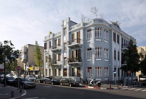 דירת גן נדירה – בניין אקלקטי !